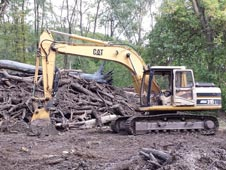 Snelten, Inc. CAT 315 Clearing